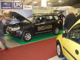 V rámci veletrhu se také již druhým rokem prezentovala výstava automobilů na alternativní pohon.